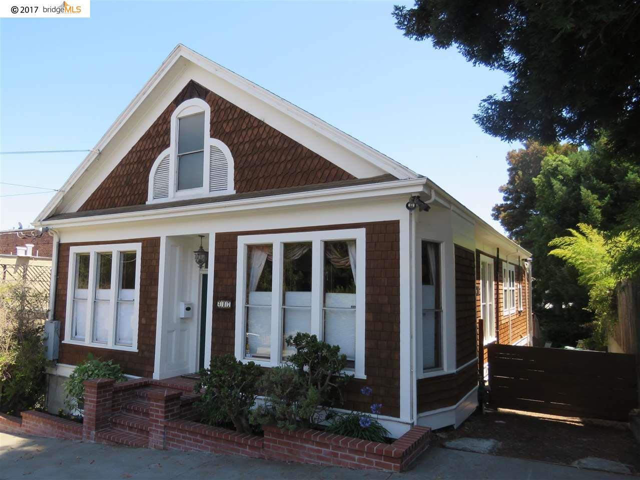 Maison unifamiliale pour l Vente à 217 Washington Avenue Point Richmond, Californie 94801 États-Unis