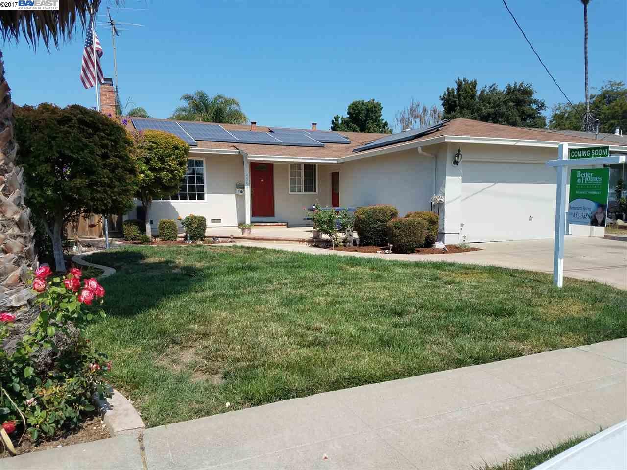 一戸建て のために 売買 アット 4509 Nicolet Avenue Fremont, カリフォルニア 94536 アメリカ合衆国