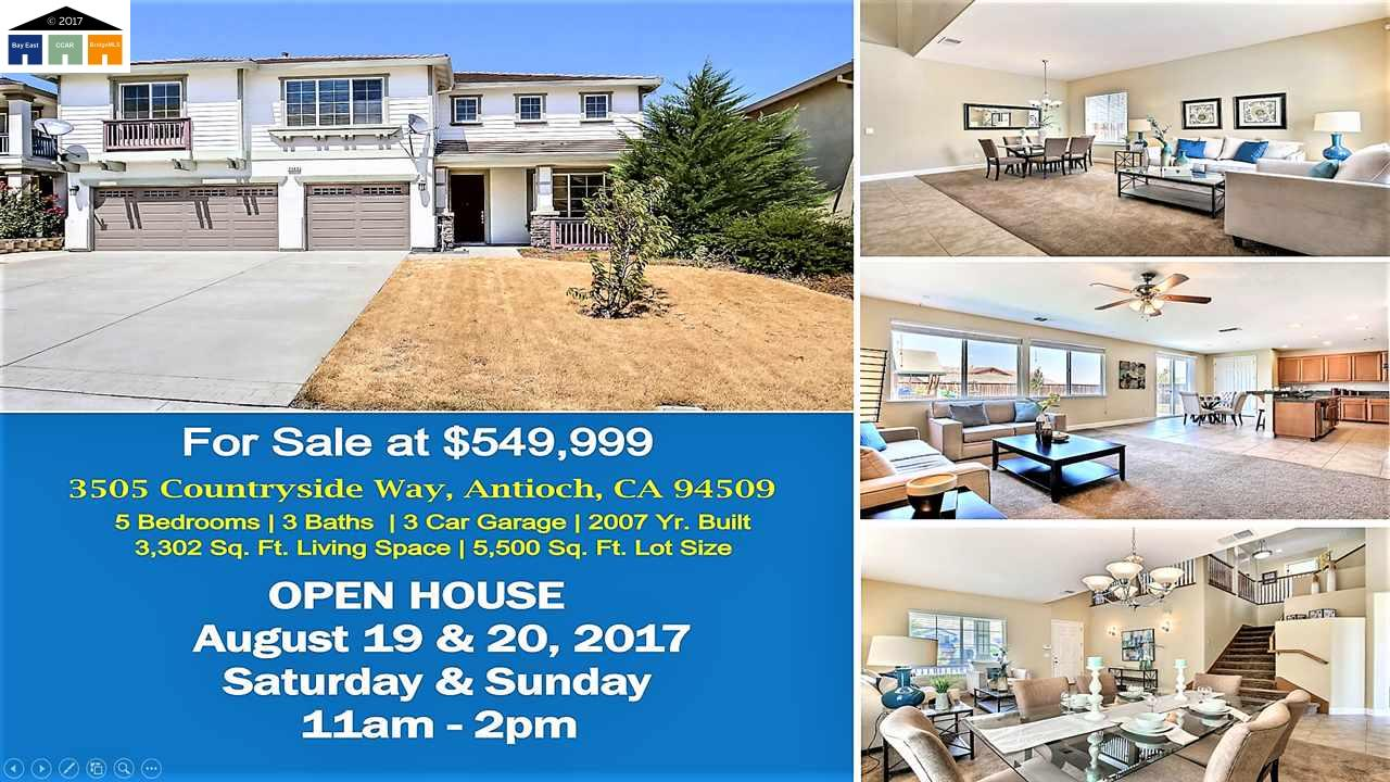 3505 Countryside Way, ANTIOCH, CA 94509