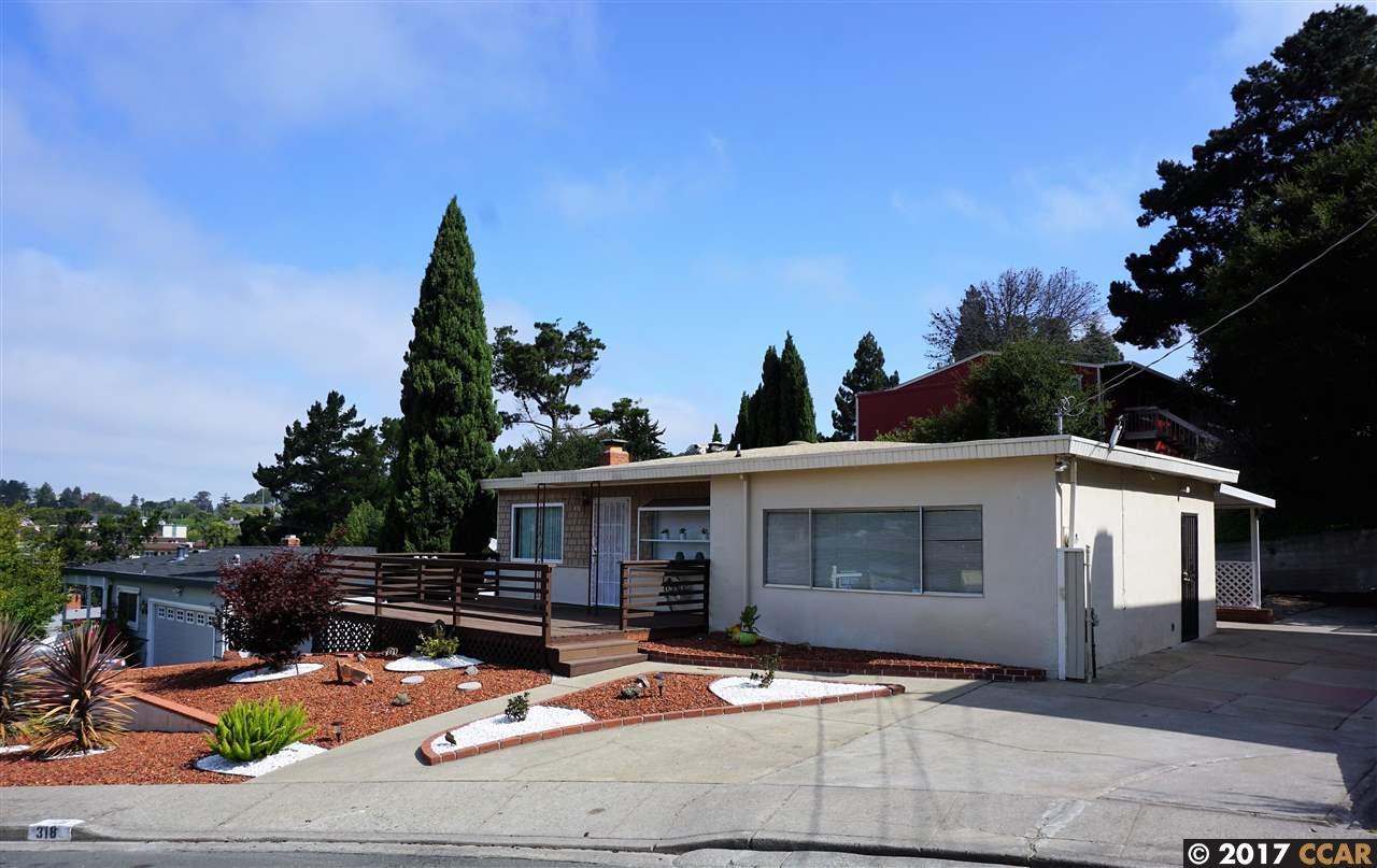 318 Shirley Vista St, EL SOBRANTE, CA 94803