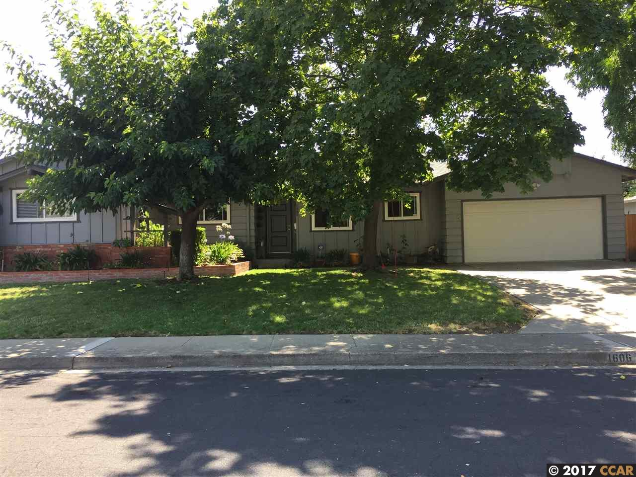 Single Family Home for Rent at 1606 Yeoman Drive Concord, California 94521 United States