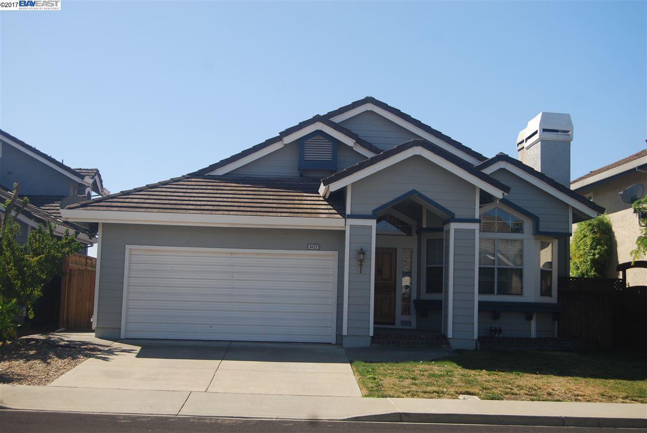 Casa Unifamiliar por un Alquiler en 3422 VERMONT Place Pleasanton, California 94588 Estados Unidos