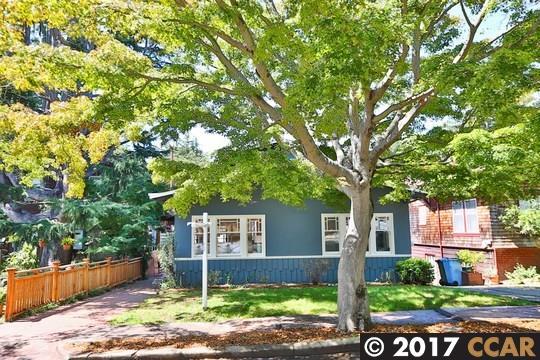 Einfamilienhaus für Verkauf beim 1128 WALNUT STREET Berkeley, Kalifornien 94707 Vereinigte Staaten