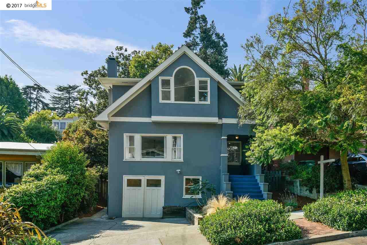 Частный односемейный дом для того Продажа на 6116 N Rockridge Blvd 6116 N Rockridge Blvd Oakland, Калифорния 94618 Соединенные Штаты