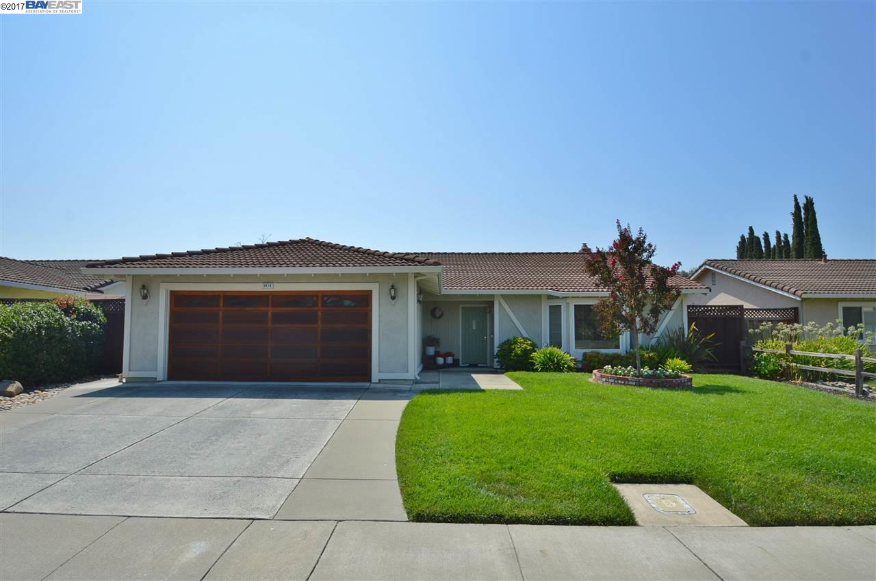 Single Family Home for Sale at 3414 Stacey Way Pleasanton, California 94588 United States