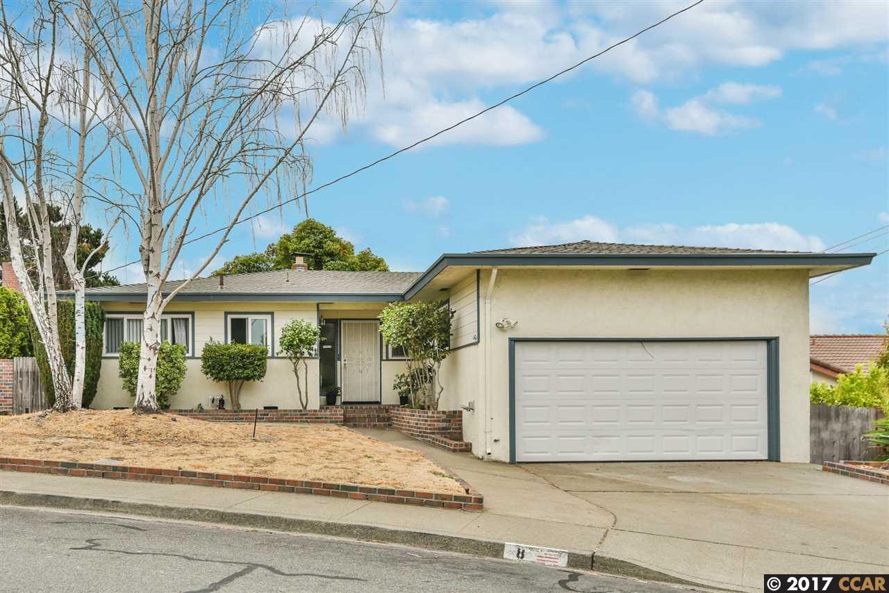 Single Family Home for Sale at 8 Rolph Park Drive 8 Rolph Park Drive Crockett, California 94525 United States