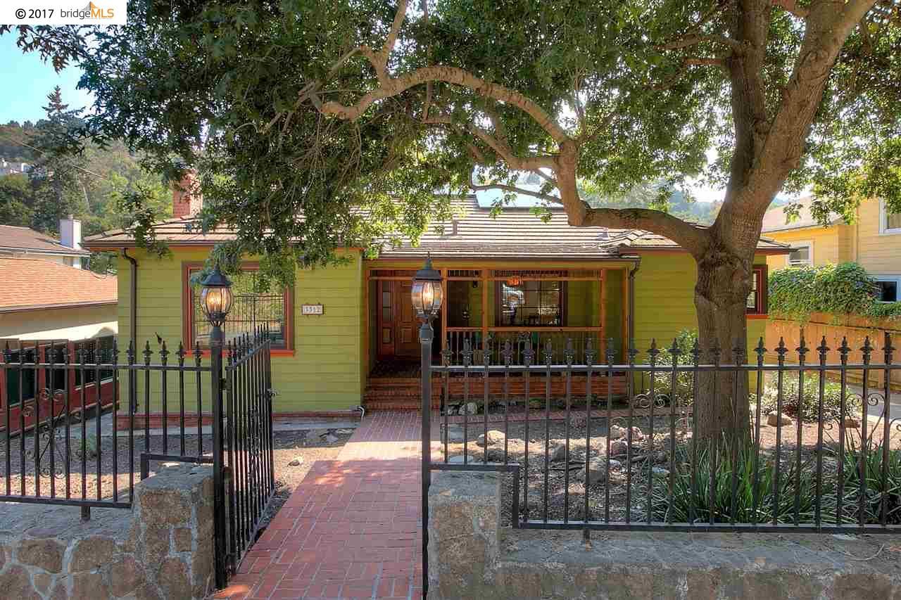 Single Family Home for Sale at 3312 Jordan Road 3312 Jordan Road Oakland, California 94602 United States
