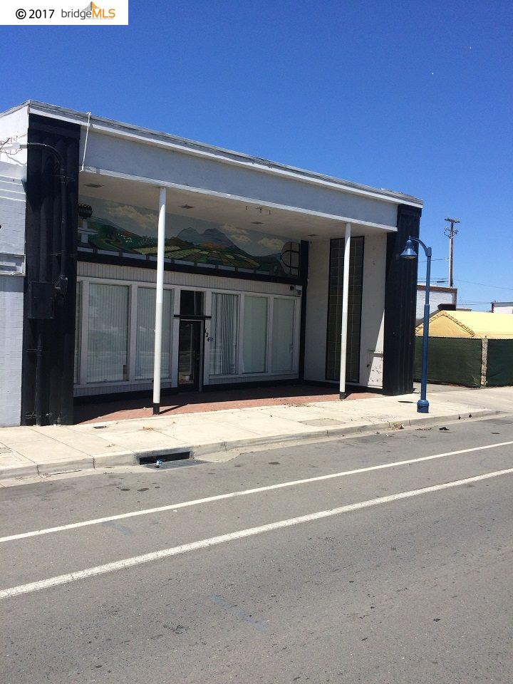 Commercial for Sale at 124 Parker Avenue 124 Parker Avenue Rodeo, California 94572 United States