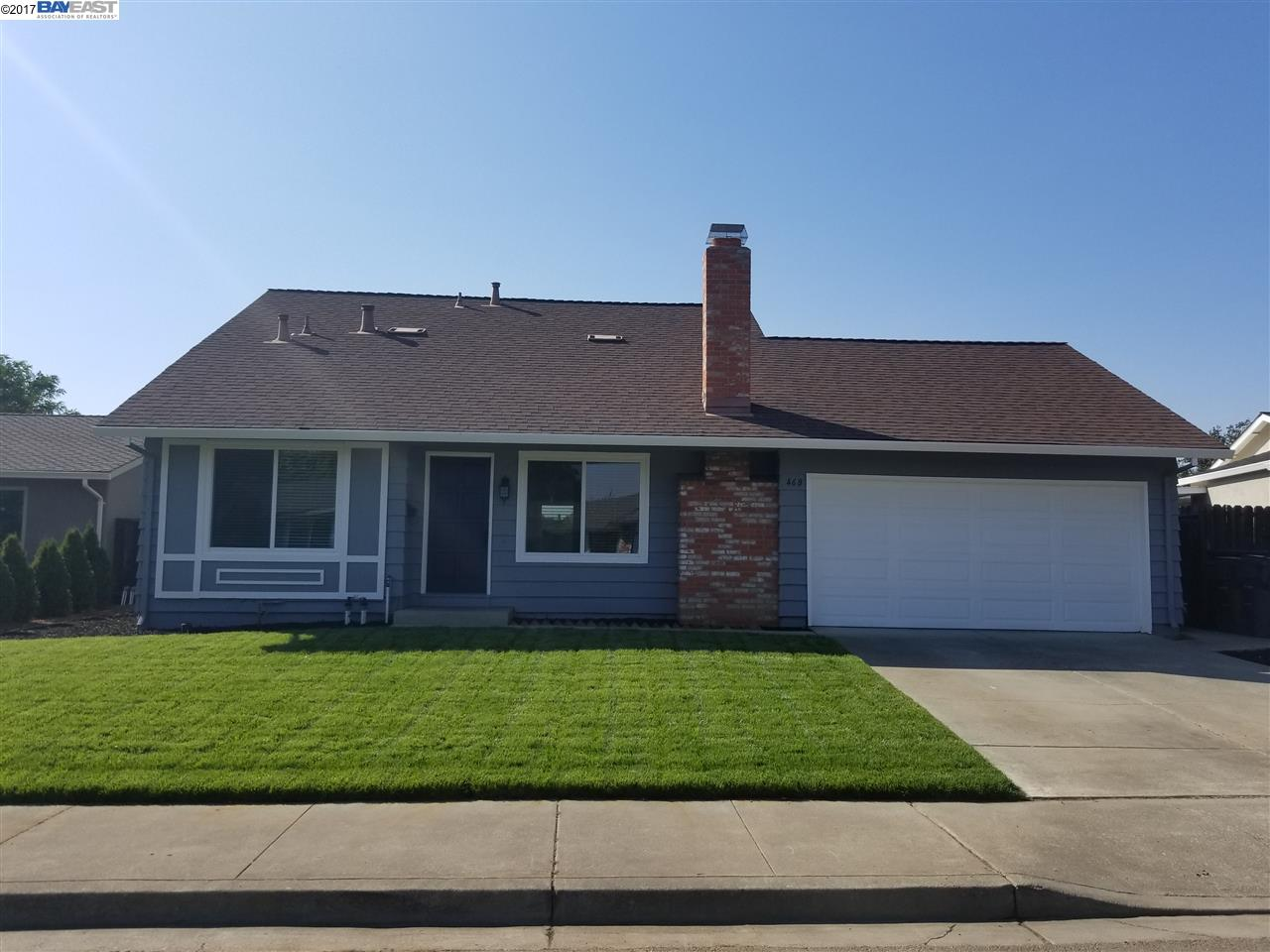 Single Family Home for Rent at 468 Huntington Way Livermore, California 94551 United States