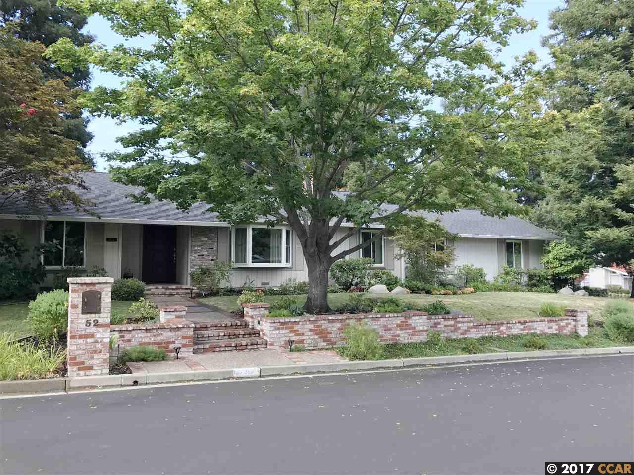 Casa Unifamiliar por un Alquiler en 52 Alexander Lane Danville, California 94526 Estados Unidos