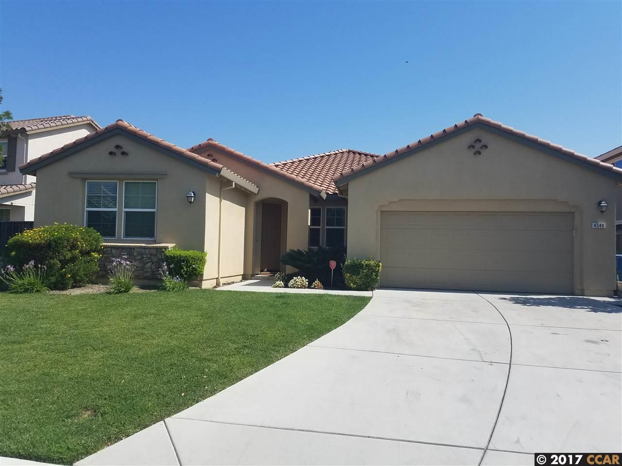 Single Family Home for Rent at 4540 Hidden Glen Drive Antioch, California 94531 United States
