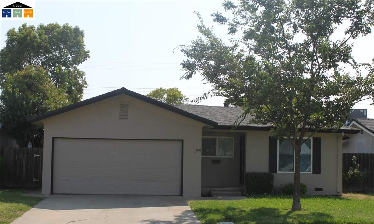 واحد منزل الأسرة للـ Sale في 508 Howard Street 508 Howard Street Lodi, California 95242 United States