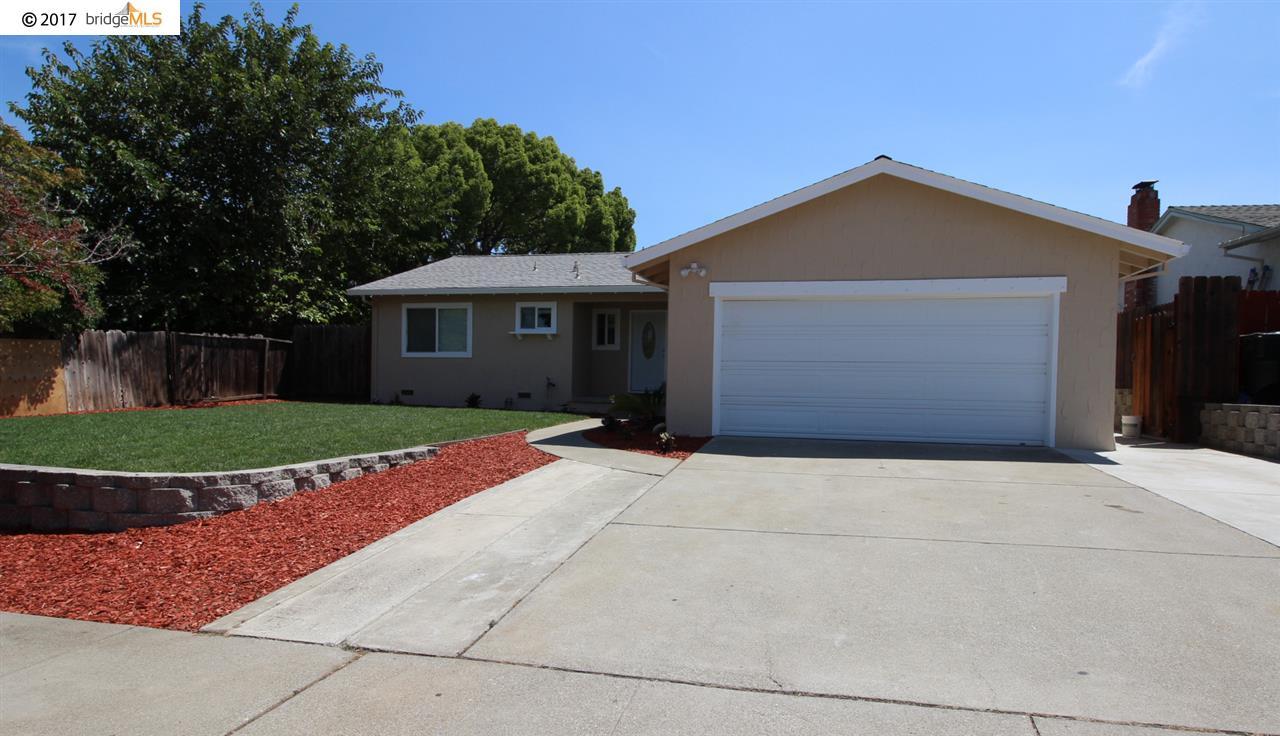 Частный односемейный дом для того Продажа на 2905 El Paso Way 2905 El Paso Way Antioch, Калифорния 94509 Соединенные Штаты