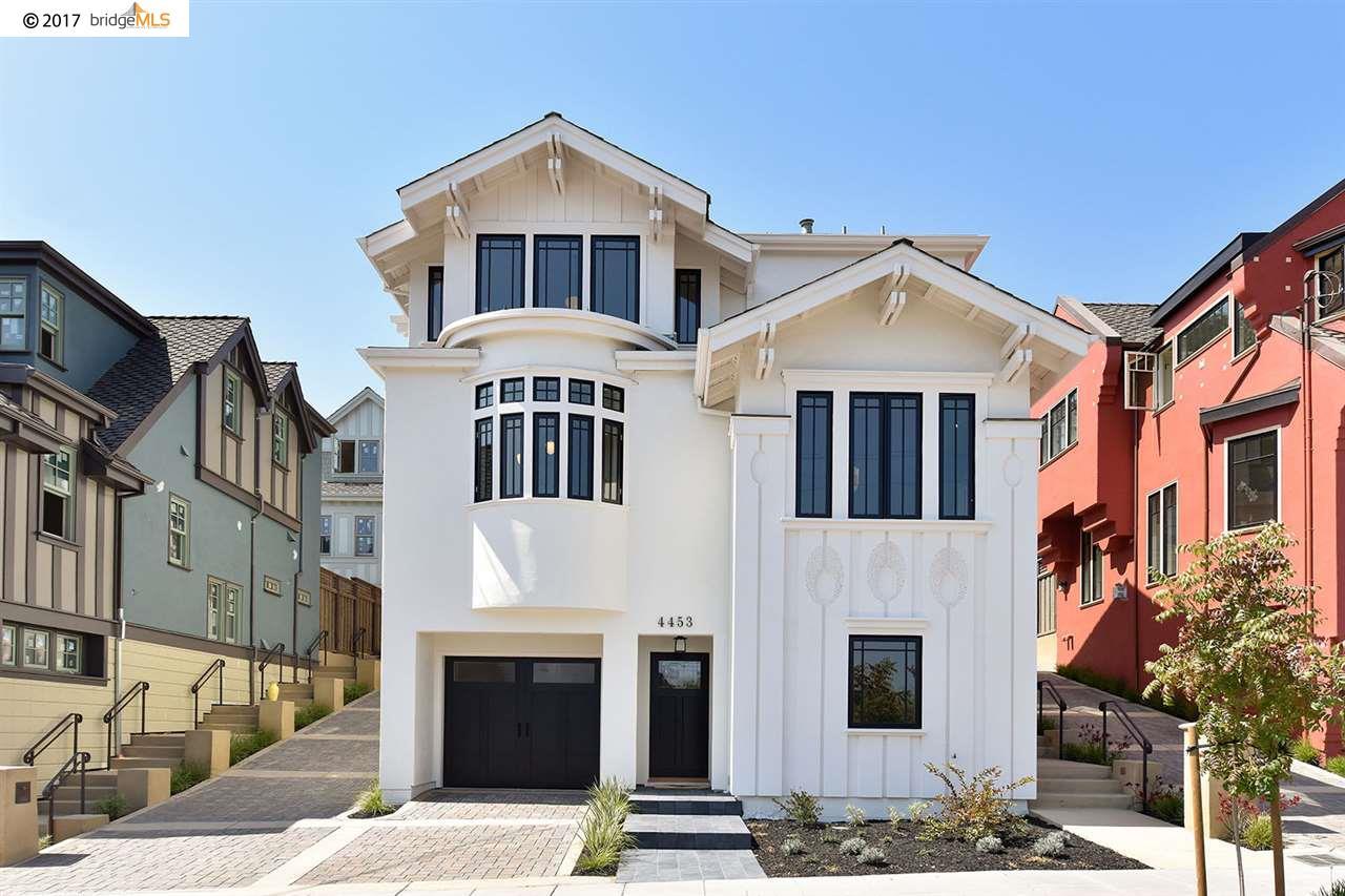 Einfamilienhaus für Verkauf beim 4453 Howe Street Oakland, Kalifornien 94611 Vereinigte Staaten