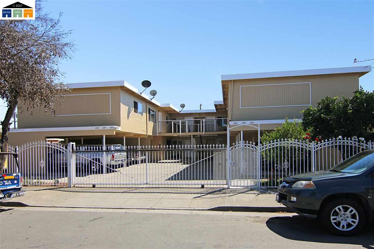 Casa Multifamiliar por un Venta en 600 Duboce Avenue 600 Duboce Avenue Richmond, California 94801 Estados Unidos