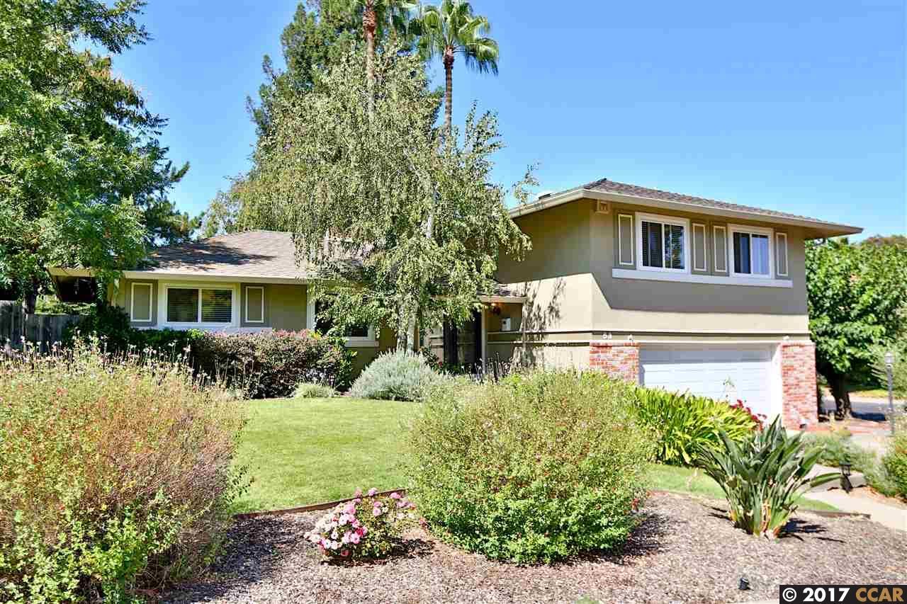 واحد منزل الأسرة للـ Sale في 53 Dublin Drive 53 Dublin Drive Pleasant Hill, California 94523 United States