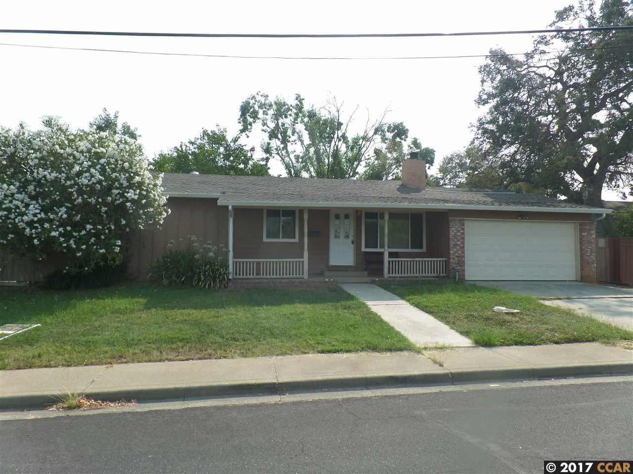 Single Family Home for Rent at 1419 Delaware Drive 1419 Delaware Drive Concord, California 94521 United States