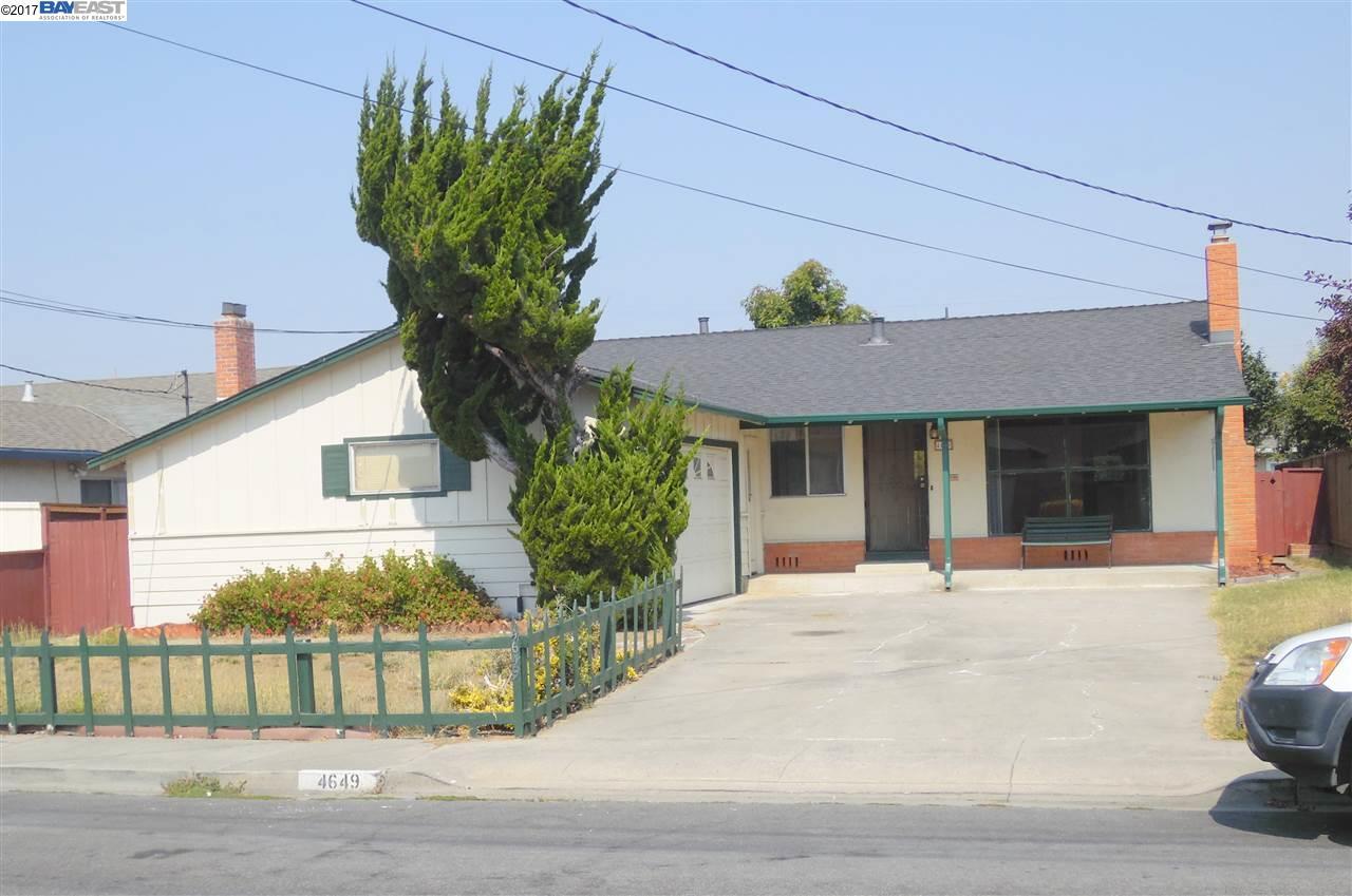 一戸建て のために 売買 アット 4649 Alhambra Drive Fremont, カリフォルニア 94536 アメリカ合衆国