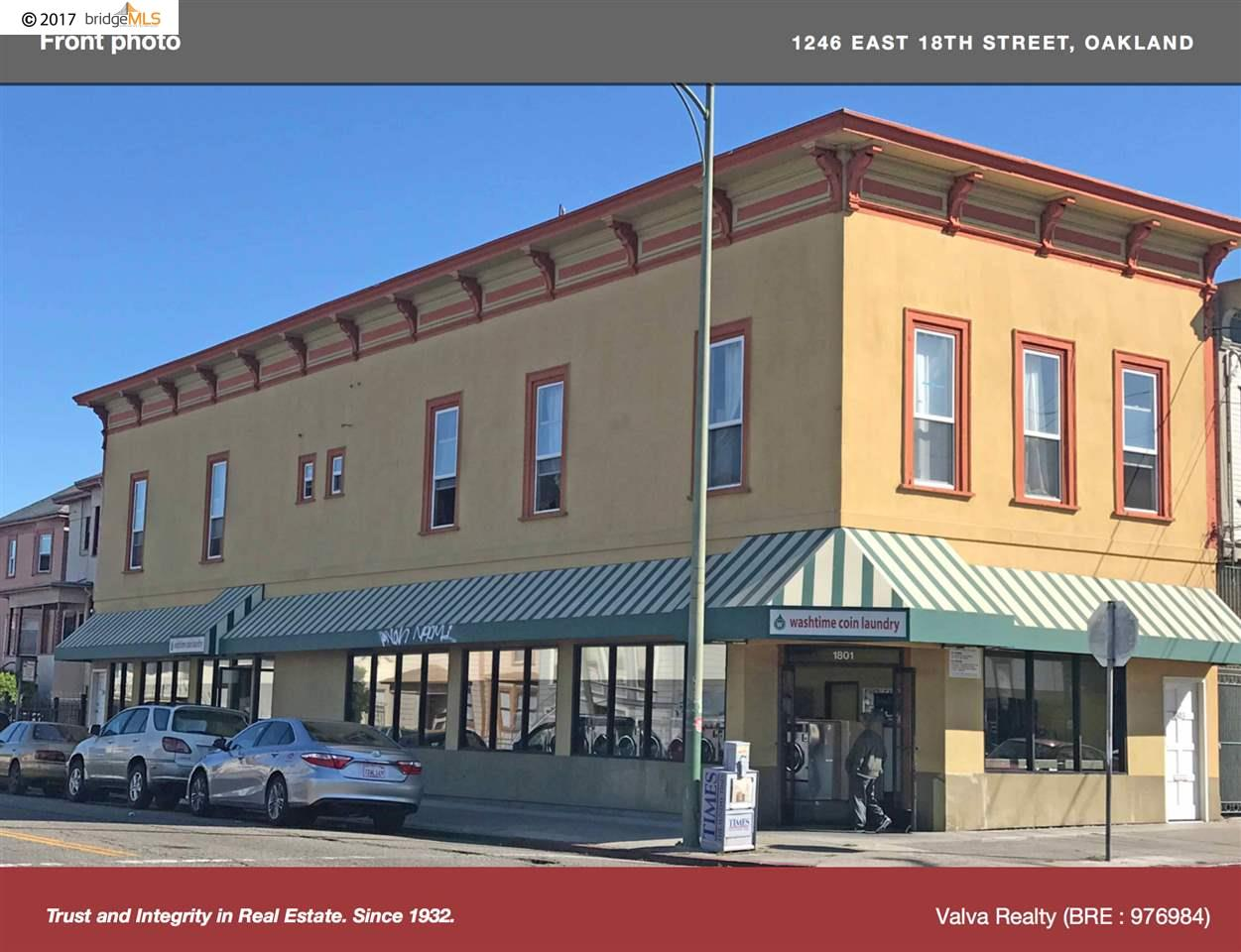 Commercial for Sale at 1246 E 18th street Oakland, California 94606 United States