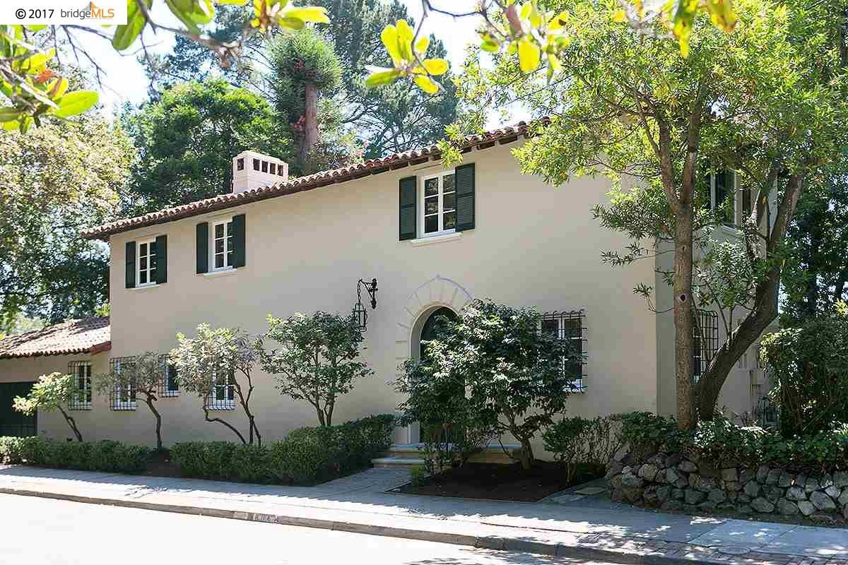 Einfamilienhaus für Verkauf beim 804 Santa Barbara Road Berkeley, Kalifornien 94707 Vereinigte Staaten