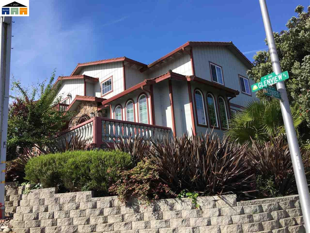 واحد منزل الأسرة للـ Sale في 881 Glenview Drive 881 Glenview Drive San Bruno, California 94066 United States