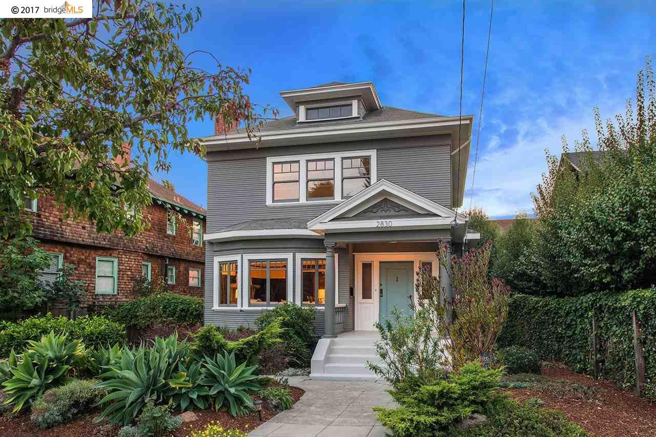 Maison unifamiliale pour l Vente à 2830 REGENT STREET Berkeley, Californie 94705 États-Unis