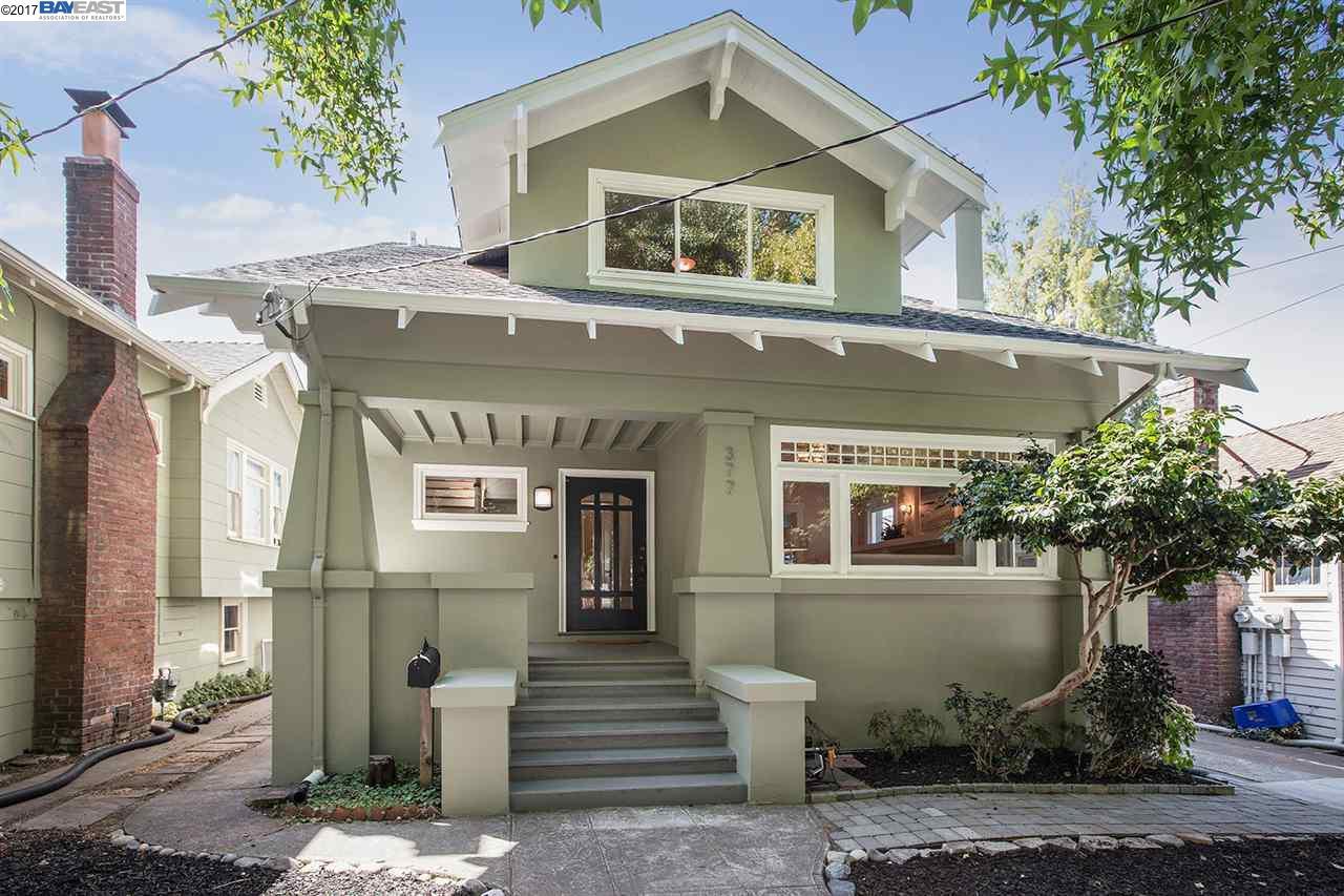 Частный односемейный дом для того Продажа на 377 62nd Street 377 62nd Street Oakland, Калифорния 94618 Соединенные Штаты