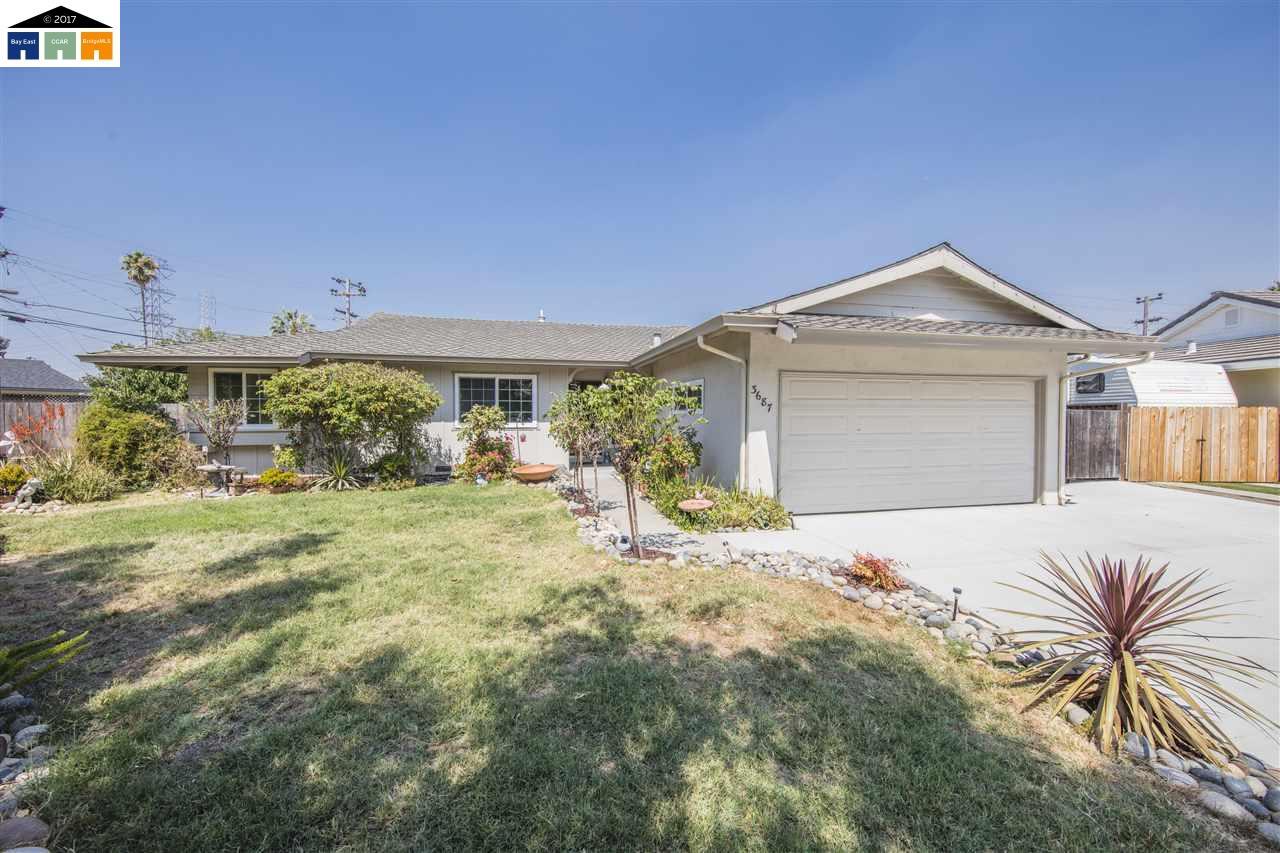 一戸建て のために 売買 アット 3687 Wilmington Fremont, カリフォルニア 94538 アメリカ合衆国