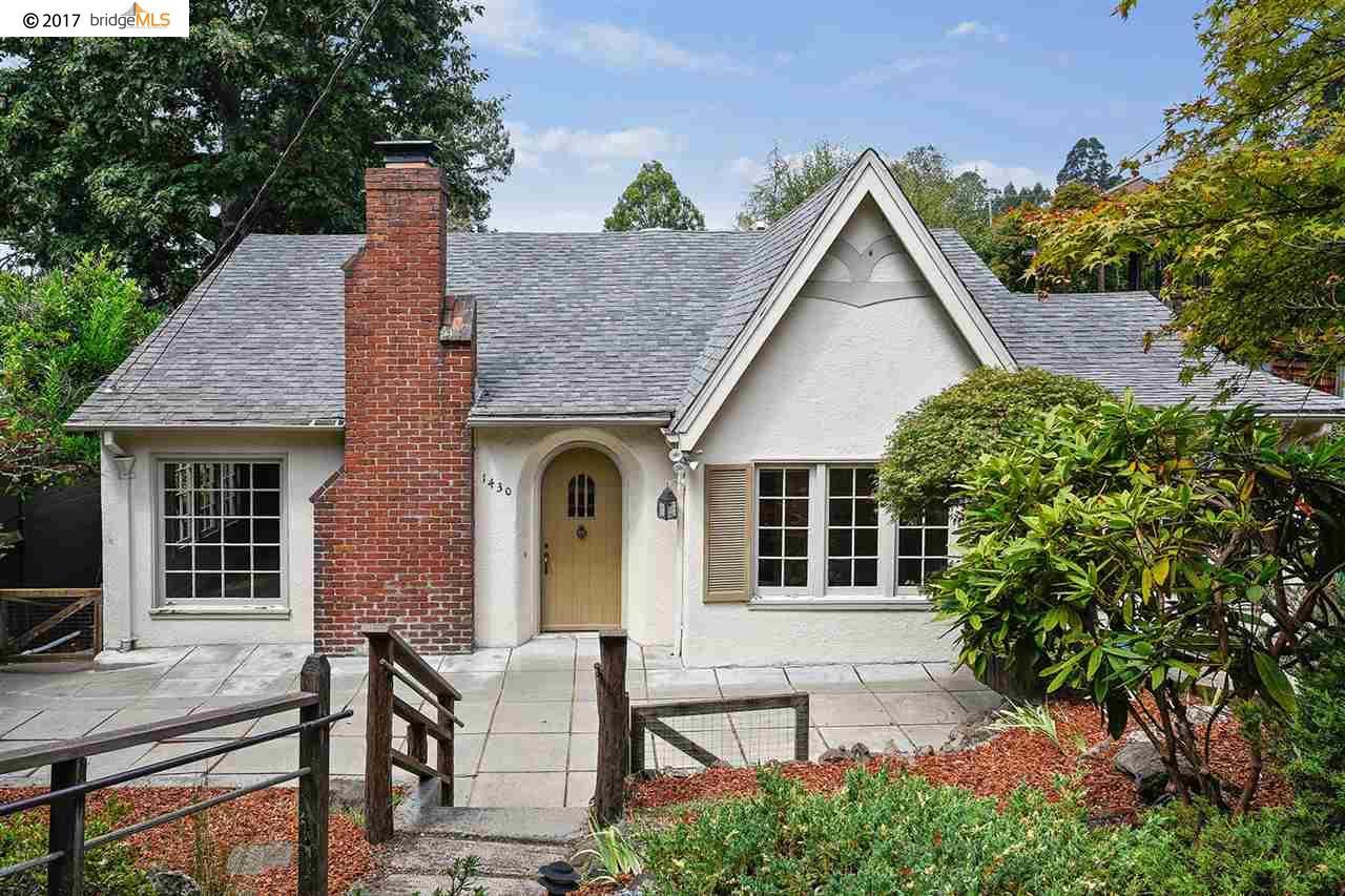 واحد منزل الأسرة للـ Sale في 1430 Grizzly Peak Blvd Berkeley, California 94708 United States