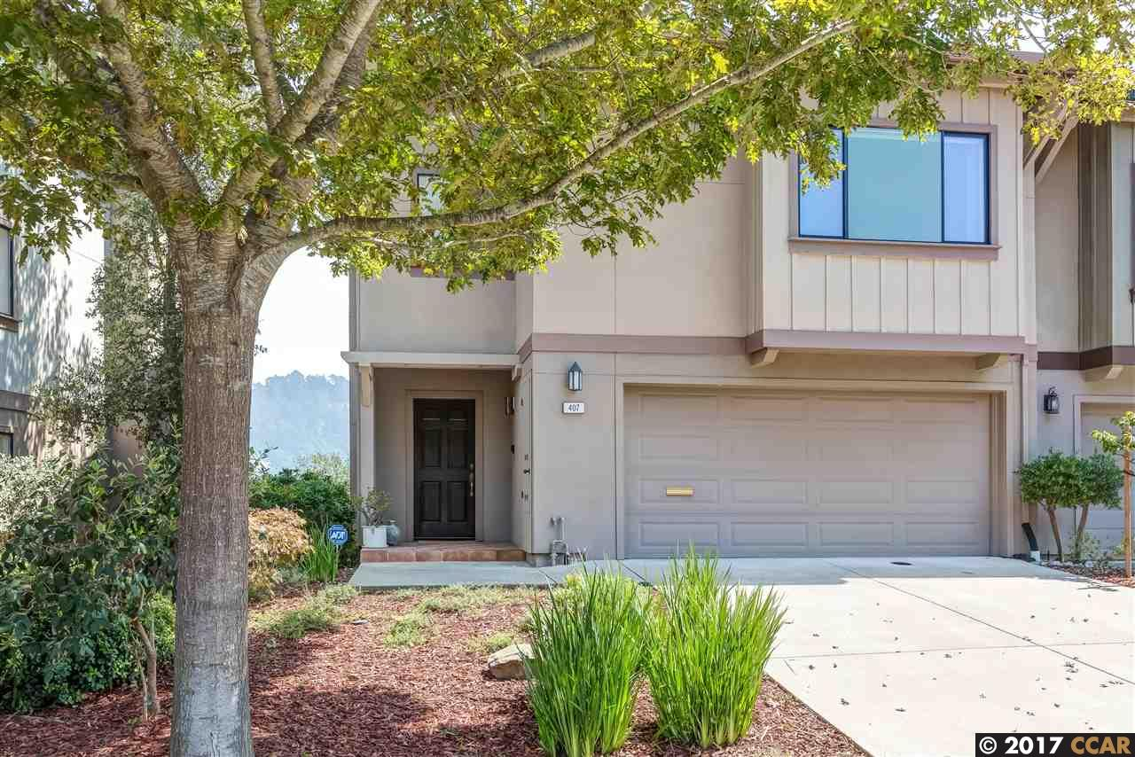 Townhouse for Sale at 407 Hiller Drive 407 Hiller Drive Oakland, California 94618 United States