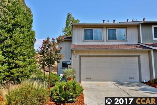 Maison accolée pour l Vente à 2513 Tea Tree Court Martinez, Californie 94553 États-Unis