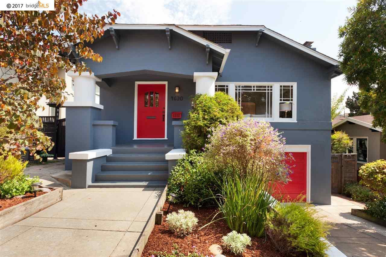 Casa Unifamiliar por un Venta en 4630 Edgewood Avenue Oakland, California 94602 Estados Unidos