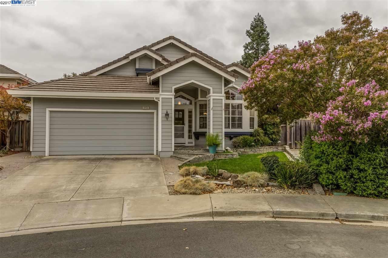 Single Family Home for Sale at 3154 Boardwalk Street Pleasanton, California 94588 United States