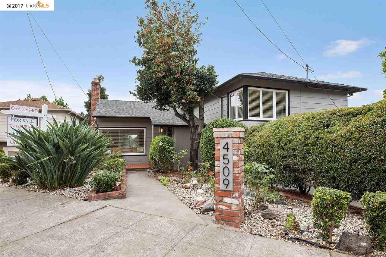 Single Family Home for Sale at 4509 TOMPKINS AVENUE 4509 TOMPKINS AVENUE Oakland, California 94619 United States