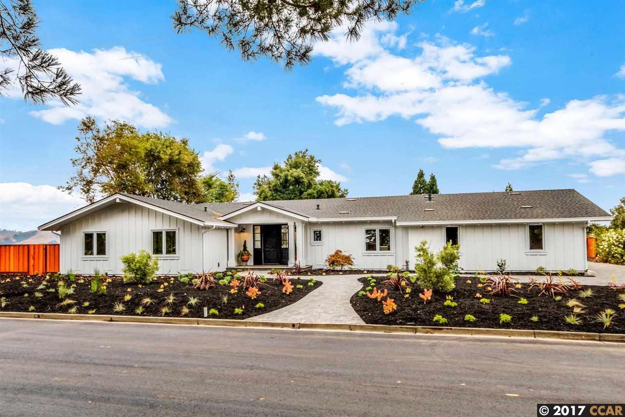 Einfamilienhaus für Verkauf beim 554 Tahos Road 554 Tahos Road Orinda, Kalifornien 94563 Vereinigte Staaten
