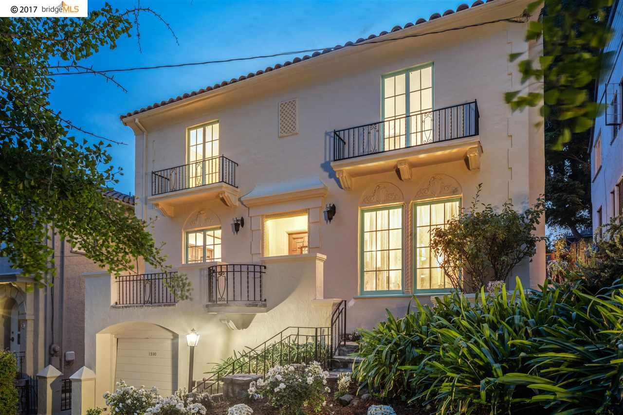 Einfamilienhaus für Verkauf beim 1590 Le Roy Avenue Berkeley, Kalifornien 94708 Vereinigte Staaten