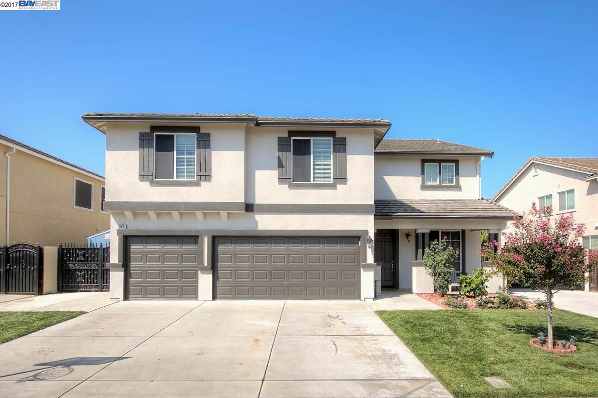 Частный односемейный дом для того Продажа на 685 Vasconcellos Avenue Manteca, Калифорния 95336 Соединенные Штаты