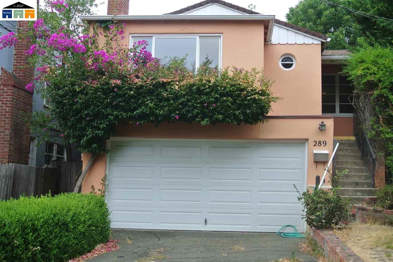 Частный односемейный дом для того Продажа на 289 Lexington Road Kensington, Калифорния 94707 Соединенные Штаты