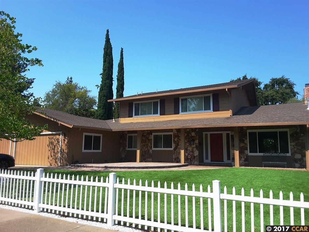 Casa Unifamiliar por un Alquiler en 761 Hutchinson Road 761 Hutchinson Road Walnut Creek, California 94598 Estados Unidos