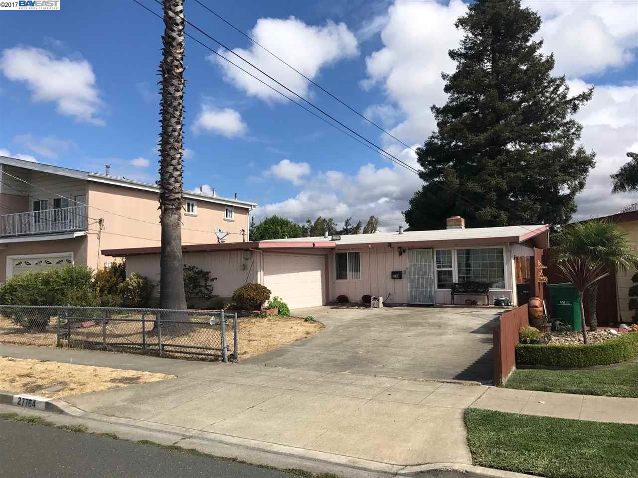 獨棟家庭住宅 為 出售 在 27764 Calaroga Avenue 27764 Calaroga Avenue Hayward, 加利福尼亞州 94545 美國