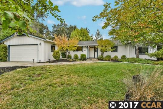 Casa Unifamiliar por un Venta en 256 Gerry Court Walnut Creek, California 94596 Estados Unidos
