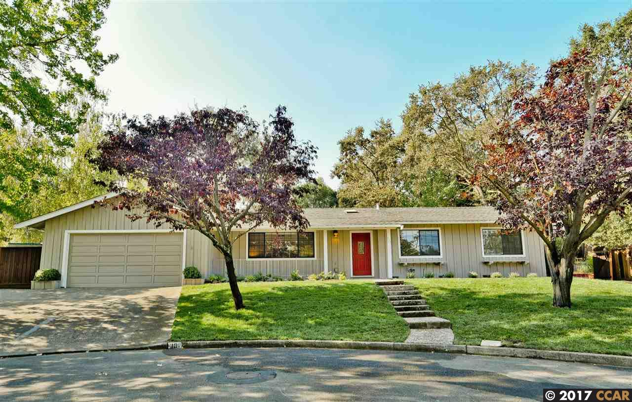 Casa Unifamiliar por un Venta en 10 Parrot Court Walnut Creek, California 94596 Estados Unidos