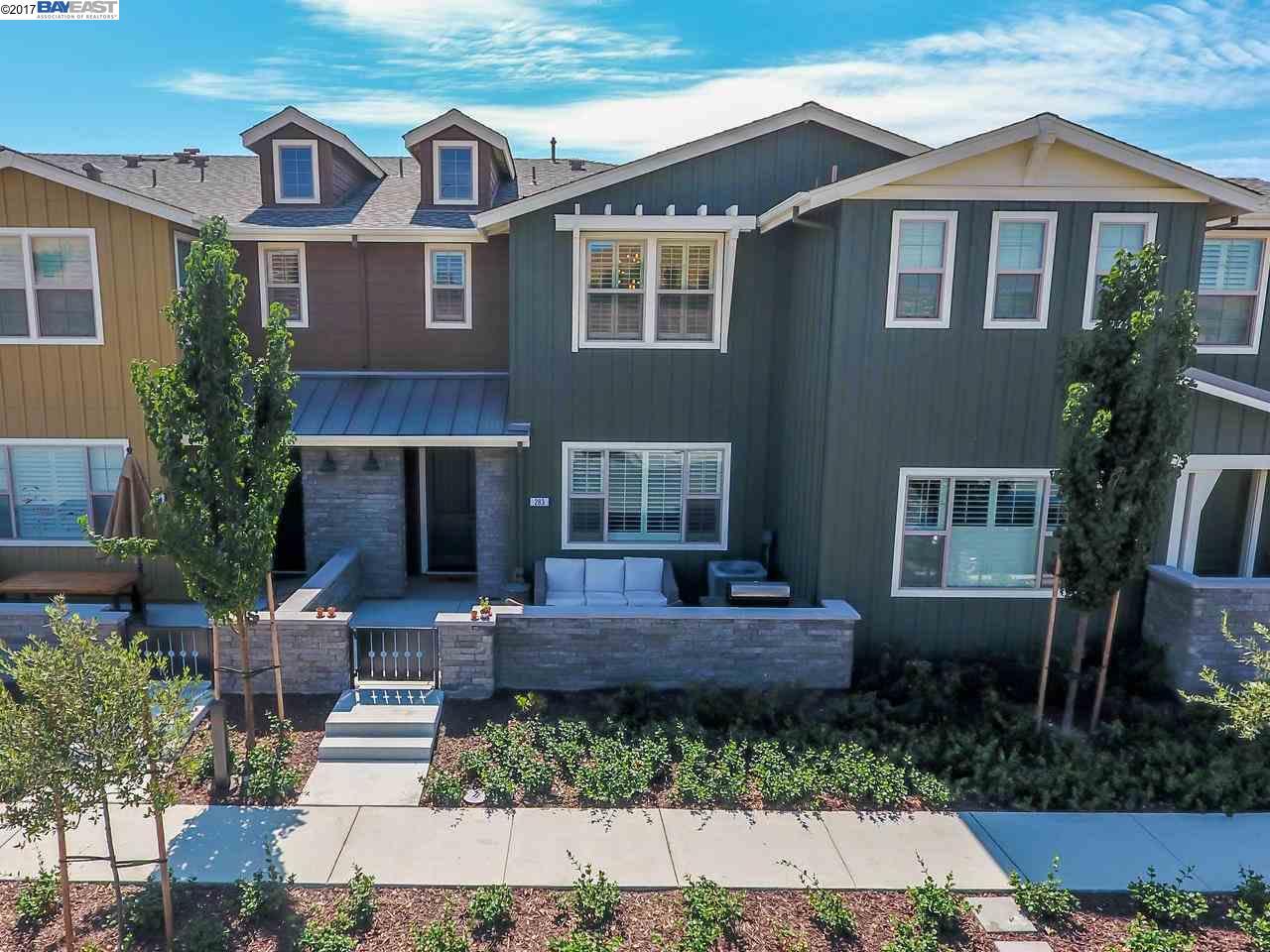 タウンハウス のために 売買 アット 283 Fennel Way Livermore, カリフォルニア 94551 アメリカ合衆国