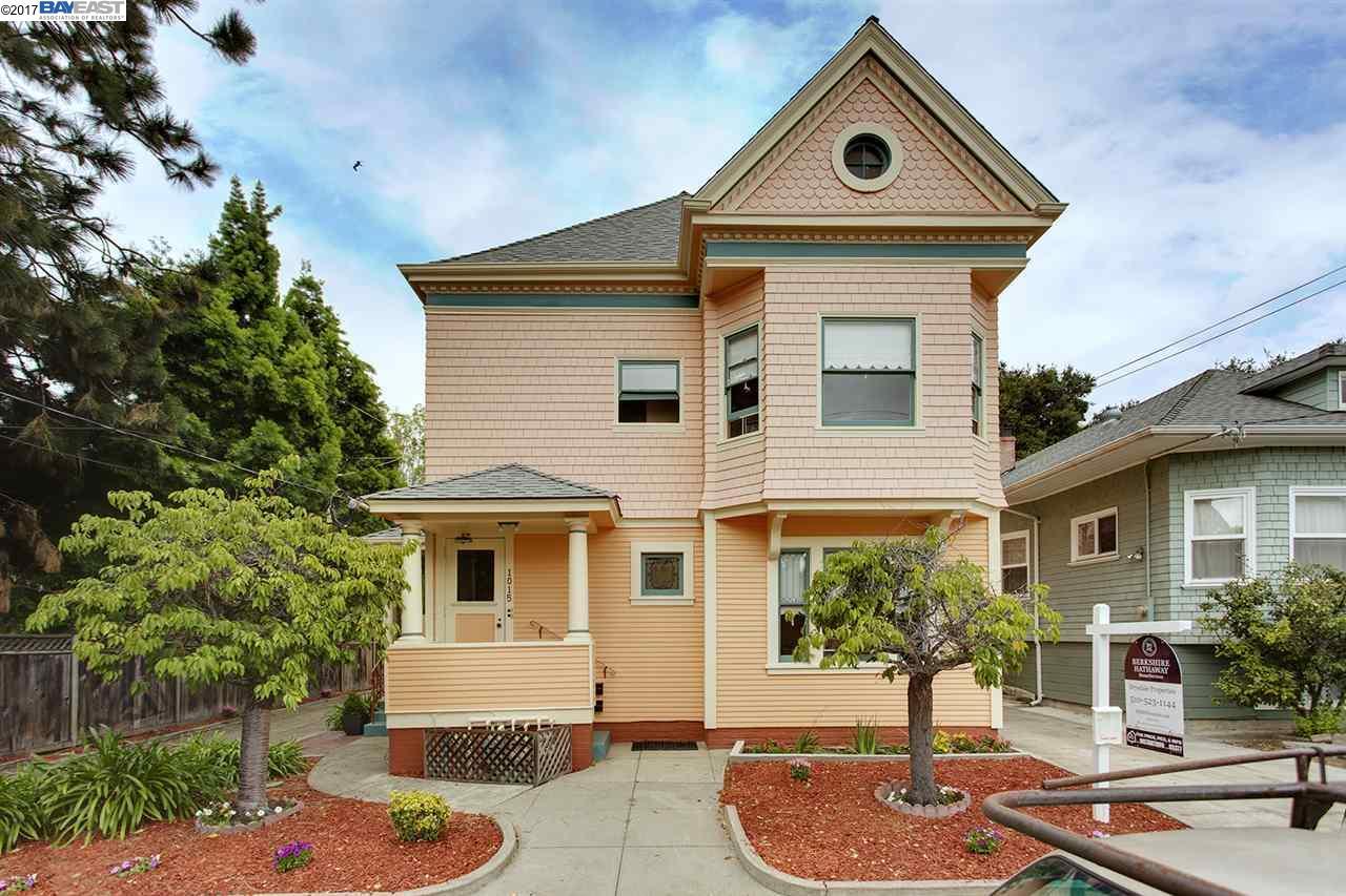 Многосемейный дом для того Продажа на 1011 Walnut Street 1011 Walnut Street Alameda, Калифорния 94501 Соединенные Штаты