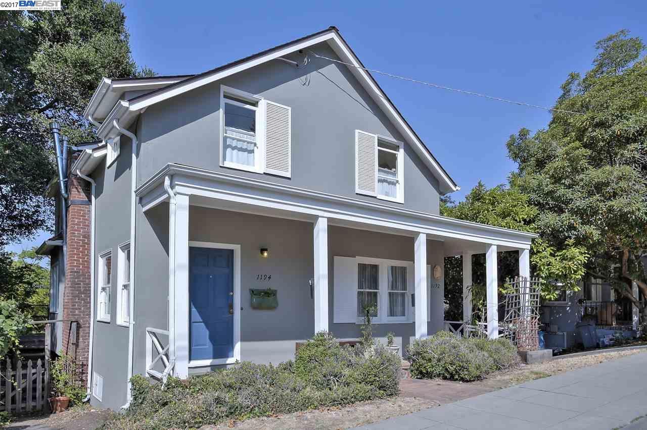 Einfamilienhaus für Verkauf beim 1192 Arch Street Berkeley, Kalifornien 94709 Vereinigte Staaten