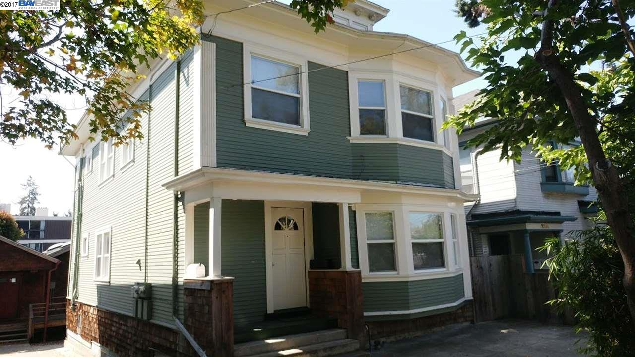 Multi-Family Home for Sale at 2210 Parker Street 2210 Parker Street Berkeley, California 94704 United States