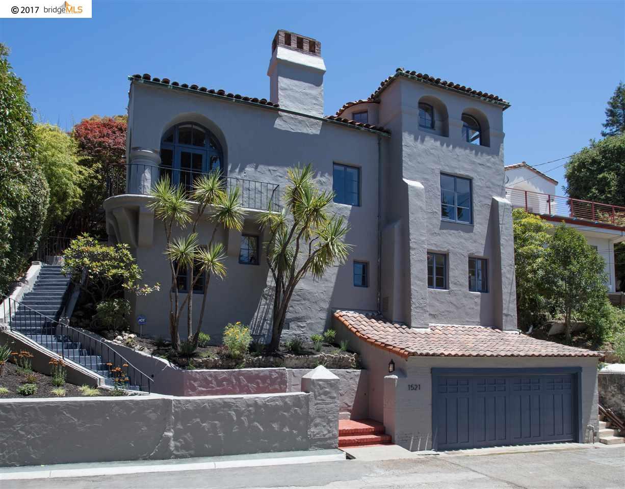 Einfamilienhaus für Verkauf beim 1521 HAWTHORNE TERRACE Berkeley, Kalifornien 94708 Vereinigte Staaten