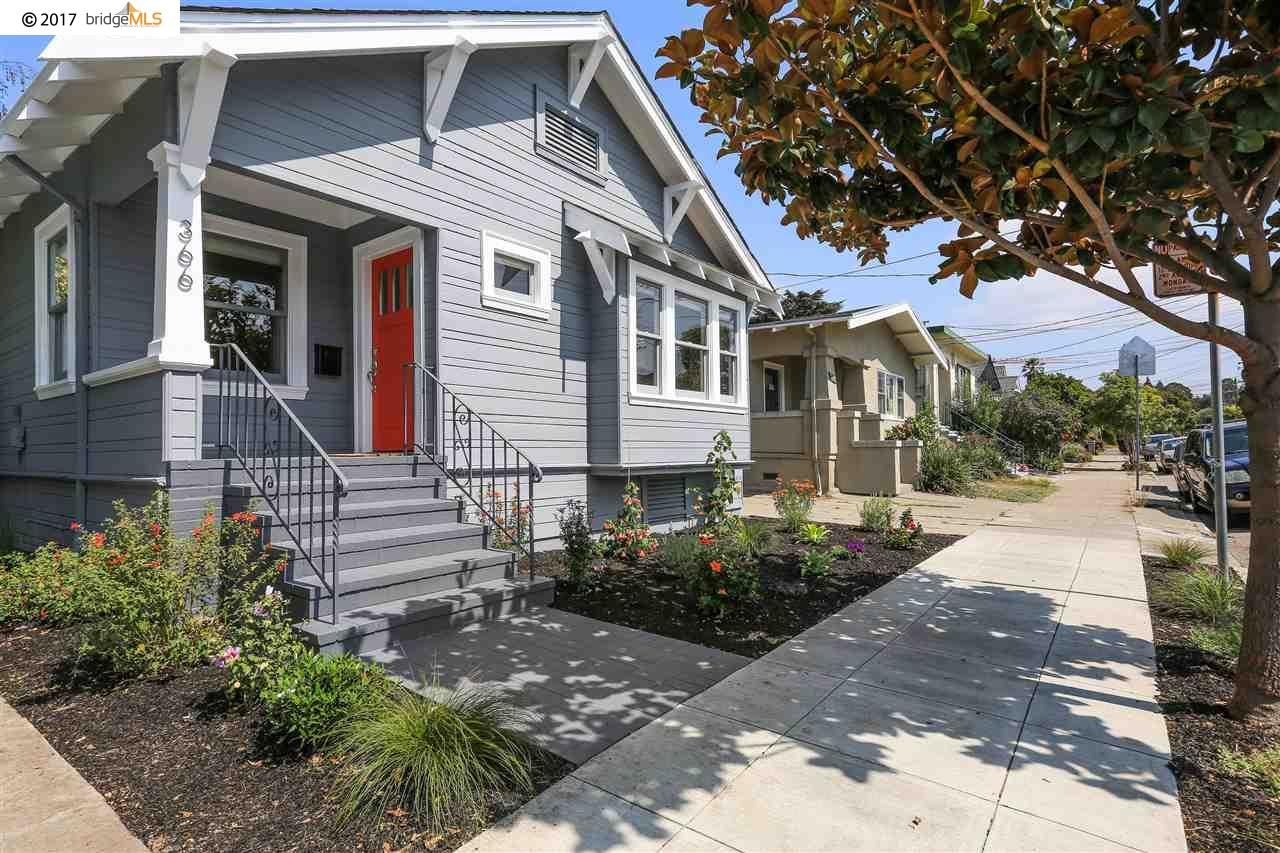 Single Family Home for Sale at 366 49Th Street 366 49Th Street Oakland, California 94609 United States
