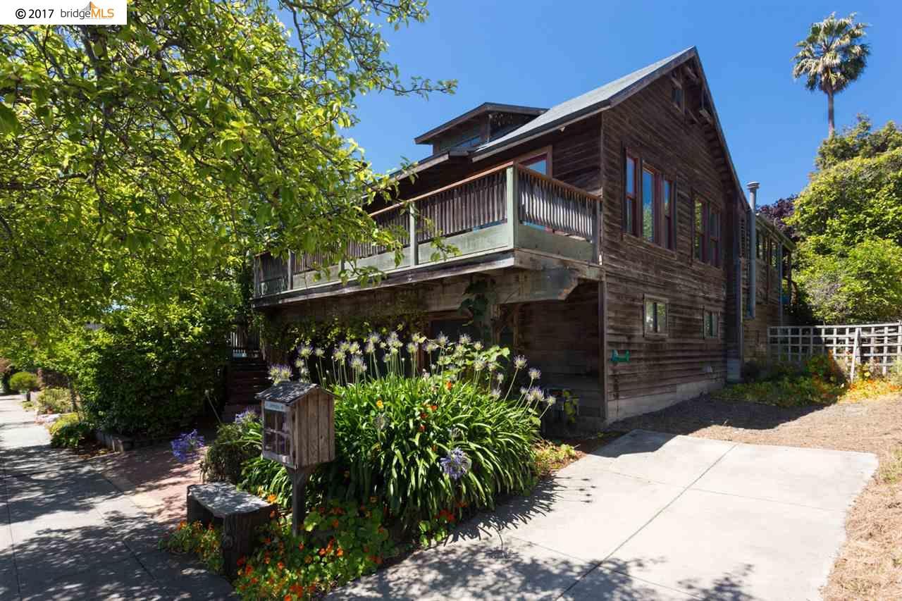 Einfamilienhaus für Verkauf beim 836 Jackson Street Albany, Kalifornien 94706 Vereinigte Staaten