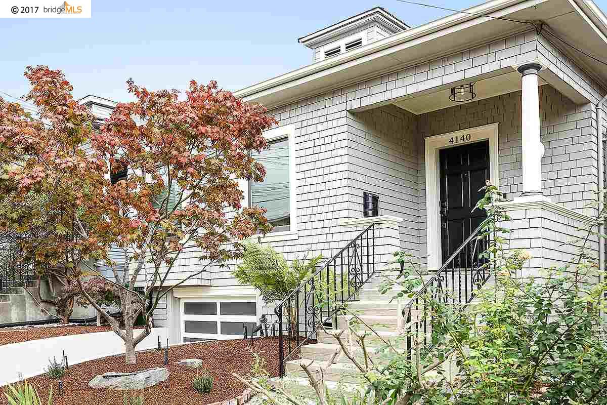 Single Family Home for Sale at 4140 Montgomery Street 4140 Montgomery Street Oakland, California 94611 United States